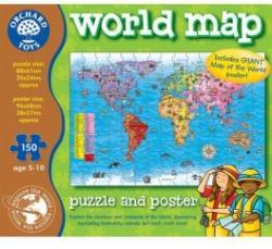 Orchard Toys Világtérkép 150 db-os (280)