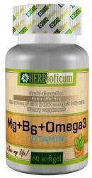 HERBioticum Mg+B6+Omega-3 vitamin kaszula - 60 db
