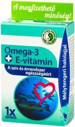 Dr. Chen Omega-3+E-vitamin kapszula - 30 db