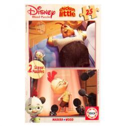Educa Disney Csodacsibe 2x25 db-os fa puzzle