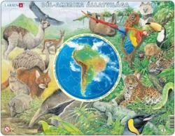 Larsen Dél-Amerika állatvilága 90 db-os