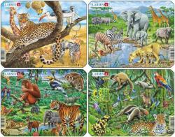 Larsen Egzotikus állatok 11 db-os