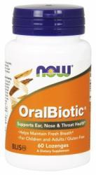 NOW OralBiotic rágótabletta - 60 db