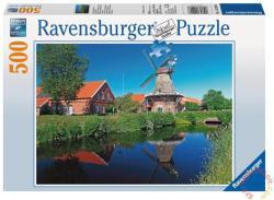Ravensburger Tájkép szélmalmokkal 500 db-os (14290)