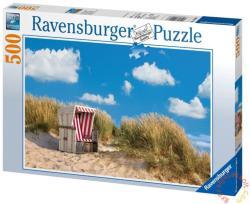 Ravensburger Magányos strandszék 500 db-os (14208)