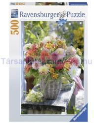 Ravensburger Gyönyörű virágok 500 db-os (14343)