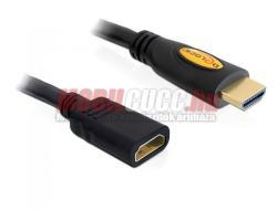 Delock HDMI Extension Cable A-B M/F 5m 83082