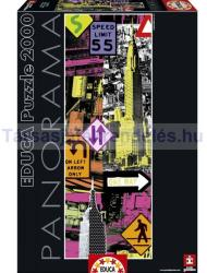 Educa New York Pop Art 2000 db-os (16017)