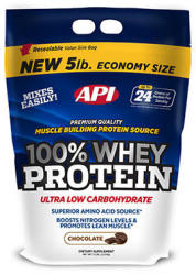 API 100% Whey Protein - 2270g