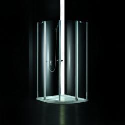 AQUATEK GLASS S6 90x90x185 cm íves