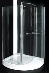 AQUATEK GLASS S1 125x95x185 cm íves