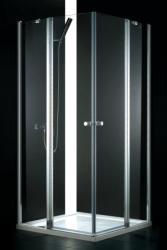 AQUATEK GLASS A4 90x90x185 cm szögletes