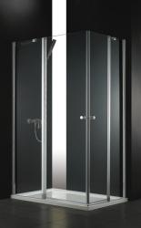 AQUATEK GLASS R24 120x80x185 cm szögletes