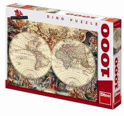 Dino Történelmi Térkép 1000 db-os (531857)