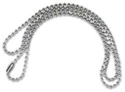 Lantisor metalic pentru ecuson 70 cm, 100 buc/set