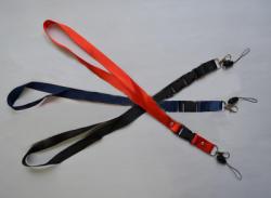 FORPUS Snur textil lat pentru ecuson 2 cm, cu carabina detasabila FORPUS