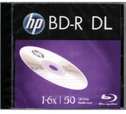 HP Blu-Ray BD-R Dual Layer 50GB 6X 1 бр.