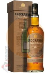 KNOCKANDO 21 Years Master Reserve Whiskey 0,7L 43%