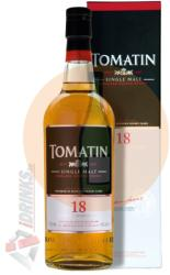 TOMATIN 18 Years Whiskey 0,7L 46%