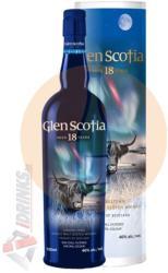 Glen Scotia 18 Years Whiskey 0,7L 46%