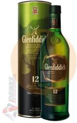 Glenfiddich 12 Years Whiskey 1L 40%