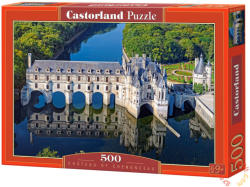 Castorland Chenonceau kastélya, Franciaország 500 db-os (B-52103)