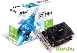 MSI GeForce GT 730 4GB GDDR3 128bit PCIe (N730-4GD3)