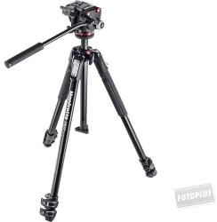 Manfrotto 190X kit - alu 3-section tripod with MHXPRO-2W fluid head (MK190X3-2W)