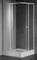 SAPHO Amanda 80x80x185 cm szögletes (E82)