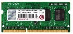Transcend 2GB DDR3-1600MHz TS256MSK64V6N