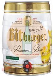 Bitburger Partyhordó 5l 4.8%