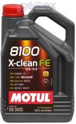Motul 8100 X-clean FE 5W30 (5L)