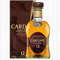 CARDHU 12 Years Whiskey 0,7L 40%