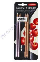 Derwent Fény és összemosó ceruza radírral, hegyezővel 6db