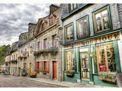 Educa Genuine Petit Champlain Heighbourhood Quebec 2000 db-os HDR puzzle (16012)