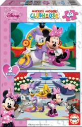Educa Disney Minnie egér és barátai 2x48 db-os (15136)