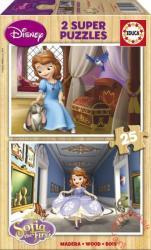 Educa Disney Szófia hercegnő fa puzzle 2x25 db-os (15914)