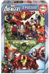 Educa Avengers - Bosszúállók 2x48 db-os (15932)