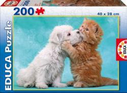 Educa Kiscica és kutyus 200 db-os (15910)