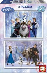 Educa Disney Jégvarázs 2x100 db-os (15767)