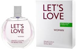 Benetton Let's Love Woman EDT 100ml