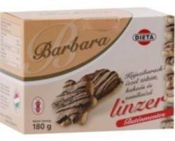 Barbara Gluténmentes Keksz, Omlós - Kajszis (180g)