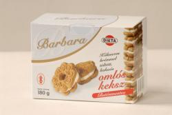 Barbara Gluténmentes Keksz - Kókuszos (180g)