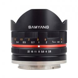 Samyang 8mm f/2.8 Fisheye (Canon EOS M)