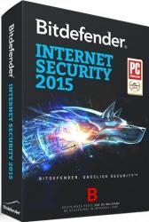 Bitdefender Internet Security 2015 (3 PC, 1 Year) TB11031003