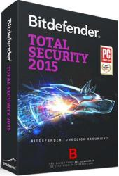 Bitdefender Total Security 2015 (1 PC, 1 Year) TB11051001
