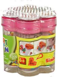 Simba Toys Art and Fun vasalható gyöngy készlet virág alakú dobozban 1300 db-os - több színben