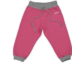 Scamp Pantaloni jogging copii DAN roz fucsia-gri (NJD012)