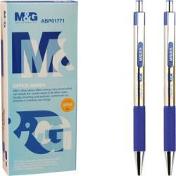 M&G Alpha golyóstoll, 0.7mm, nyomógombos - kék (TNABP1771)