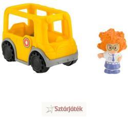 Fisher-Price Little People - Sofie és az iskolabusz (C4412/C4310)